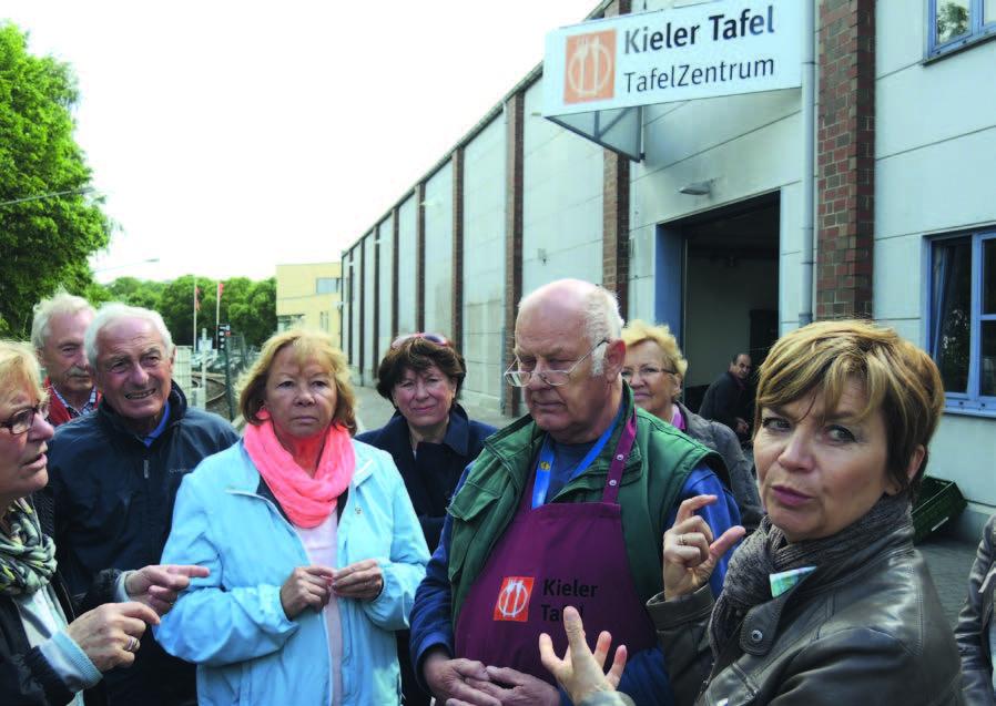 Besuch in der Kieler Tafel